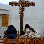 Eucharisztikus vetélkedő a templomban