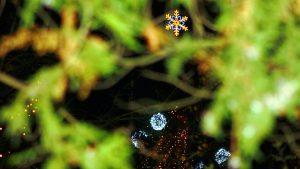 Oroszlány Fő tér Karácsonykor