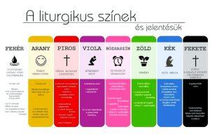Liturgikus színek