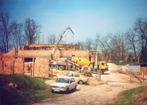 Templom építés