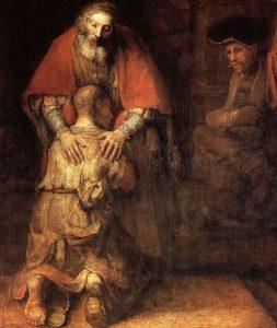 Rembrandt - A tékozló fiú hazatérése